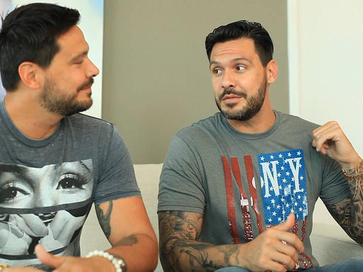 Flávio e Gustavo largaram a vida como modelos, deixaram a fama que alcançaram no Brasil e receberam em troca uma reviravolta em suas vidas