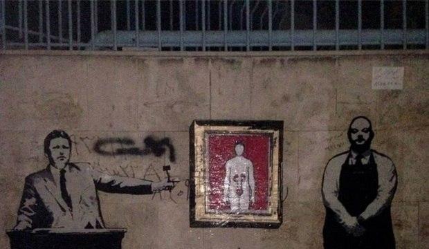 Banksy do Irã utiliza os muros para questionar costumes e provocar governantes