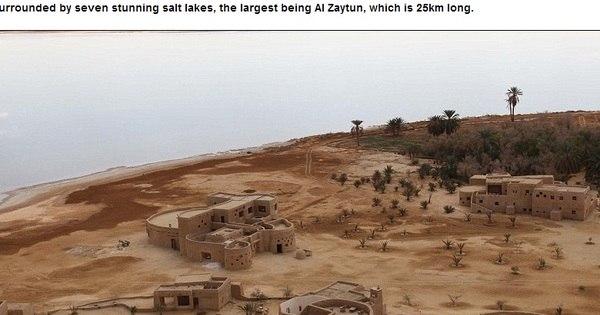 Resort sem eletricidade no deserto do Egito vira destino da realeza ...
