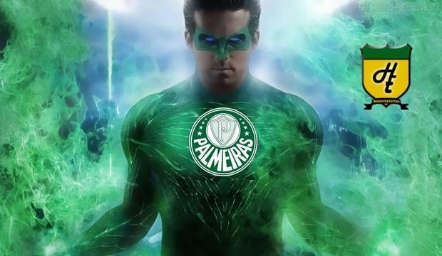 Palmeiras não é o Lanterna Verde, mas é o último do Brasileirão