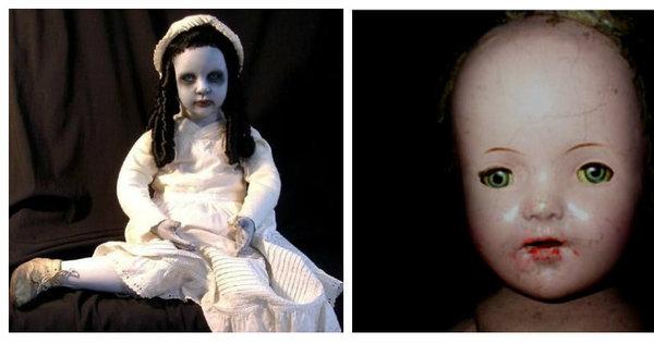 Bizarro, assustador! Essas bonecas escondem verdadeiras histórias ...