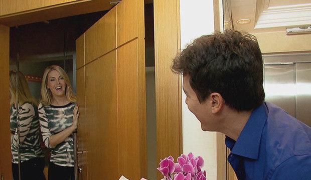 Com exclusividade, Rodrigo Faro mostra apartamento de Ana Hickmann