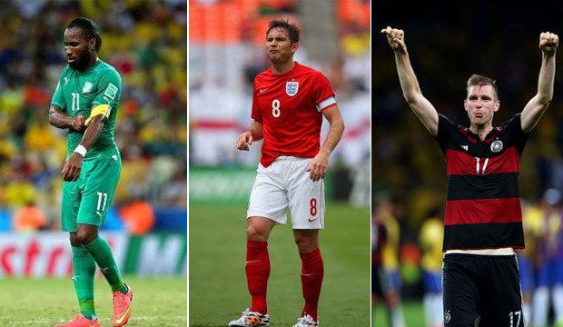 Copa do Mundo 2014 aposentou uma verdadeira seleção de craques