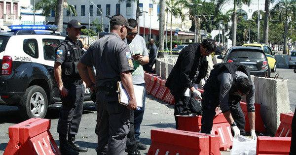 Divisão de Homicídios investiga assassinato perto dos Arcos da Lapa