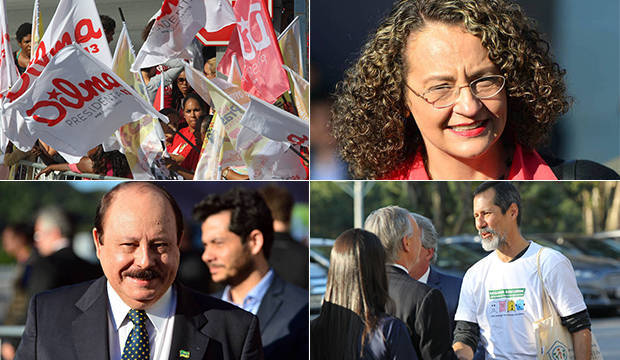 Dilma, Marina, Aécio e nanicos se encontram em 2º debate