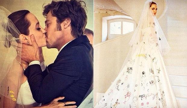Veja fotos do casamento de Angelina Jolie e Brad Pitt