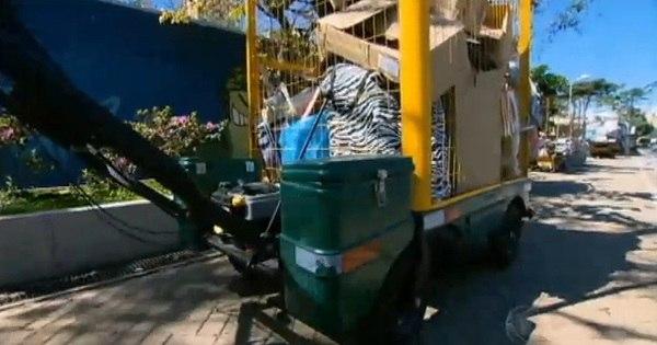 Carrinhos motorizados facilitam rotina de catadores de materiais ...