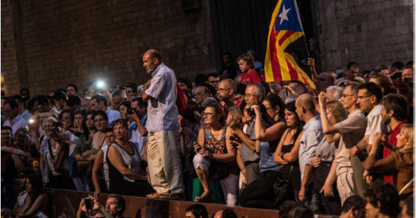 Catalunha marca seu dia de olho em referendo da Escócia ...
