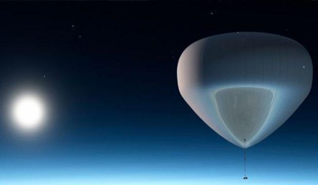 Empresa promete criar balão para levar turista ao espaço e parcela pagamento
