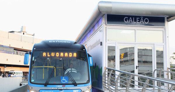 Novo serviço parador do BRT Transcarioca é inaugurado neste ...
