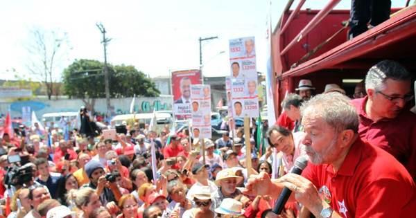 """Lula responde a choro de Marina: """"Se a companheira está chateada ..."""