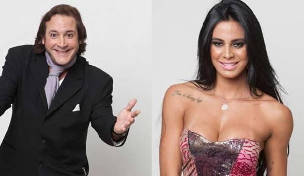 Mas já? Lorena Bueri e Roy Rossello se desentendem por causa do arroz