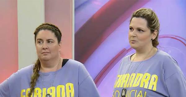 Após pesagem, Alexandra e Fabiana desabafam sobre eliminação ...