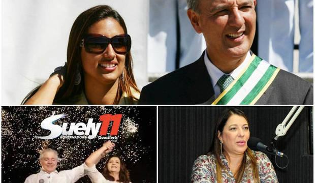 """Candidatos """"fichas sujas"""" apelam às suas mulheres para seguir campanha"""