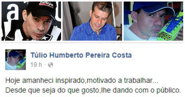 """""""Aposentado"""" após milésimo gol, Túlio Maravilha pede emprego ..."""