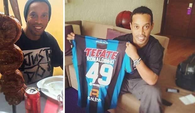 Relembre os primeiros dias de Ronaldinho Gaúcho em seu novo clube no México