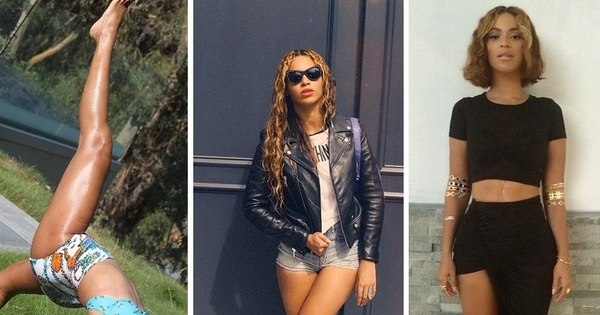 Diva? Nem tanto! Beyoncé é acusada de usar photoshop; veja as ...