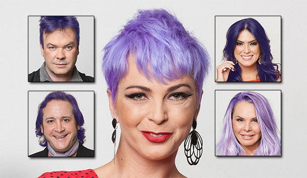 Já imaginou se todos os peões imitassem o cabelo roxo de Bruna Tang?