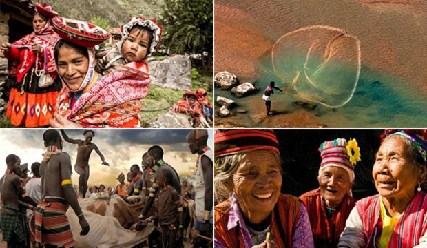 Foto de índio brasileiro vence concurso mundial