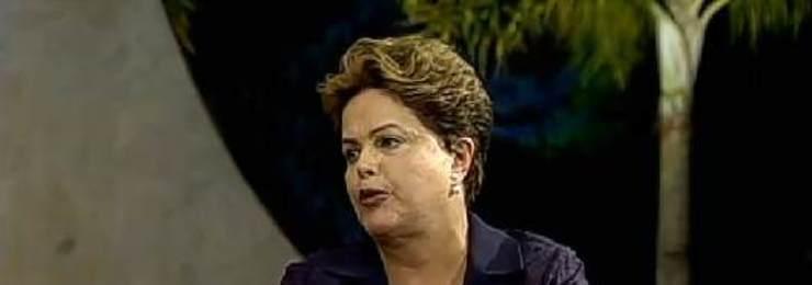 Assista à entrevista de Dilma Rousseff no <em>Jornal da Record</em>