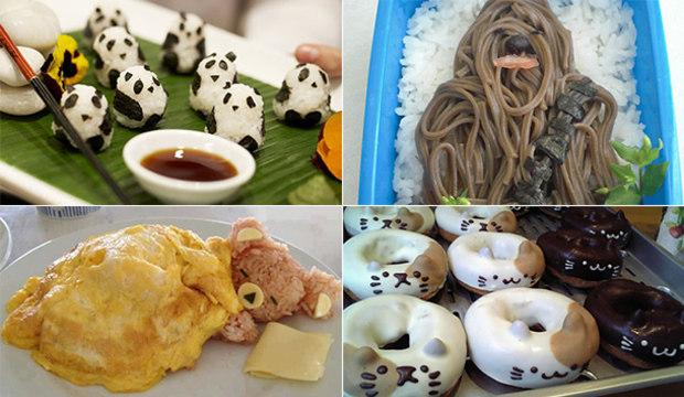 Inspire-se em 20 pratos deliciosos e fofos da culinária japonesa