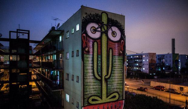 Projeto de arte deixa conjunto habitacional mais bonito em São Paulo