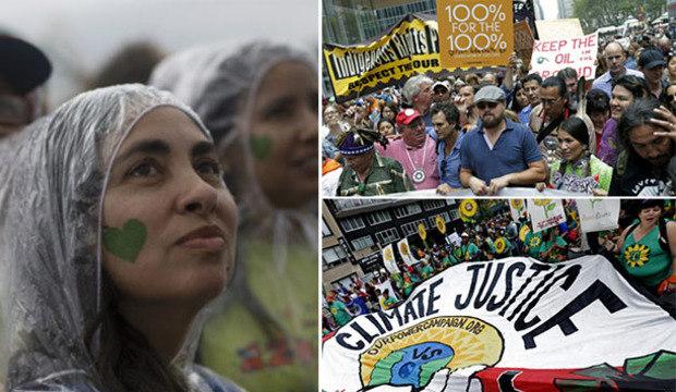 Manifestações pelo clima se espalham pelo mundo neste domingo