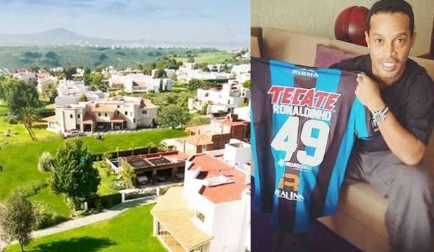 Conheça a mansão que Ronaldinho pode comprar para morar no México<br />