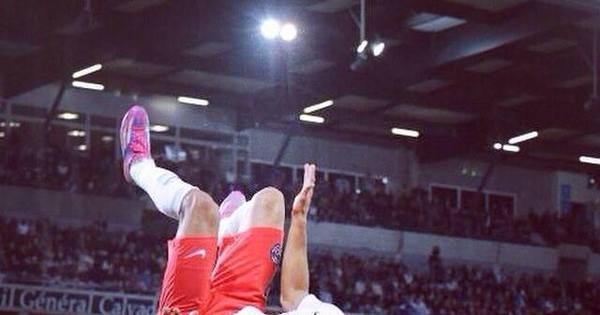 Lucas e Marquinhos fazem os gols da vitória do PSG sobre o Caen ...