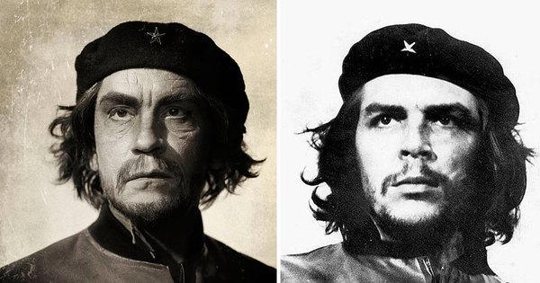 John Malkovich recria fotos históricas de ícones como Albert ...