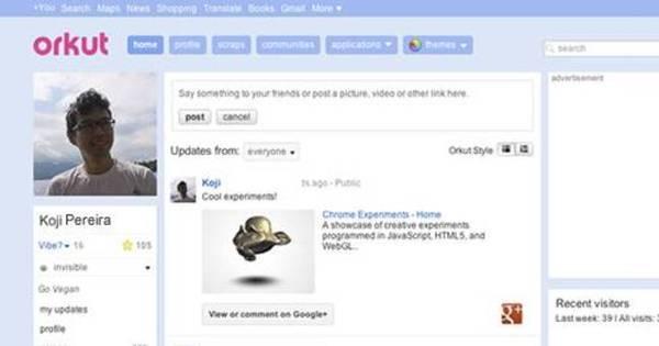 Google fecha as portas do Orkut nesta terça (30) - Notícias - R7 ...