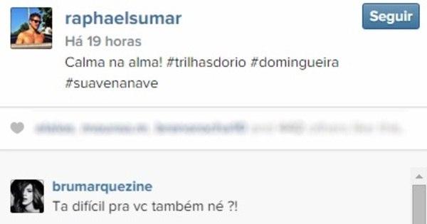Tá rolando? Bruna Marquezine deixa recado fofo no Instagram de ...