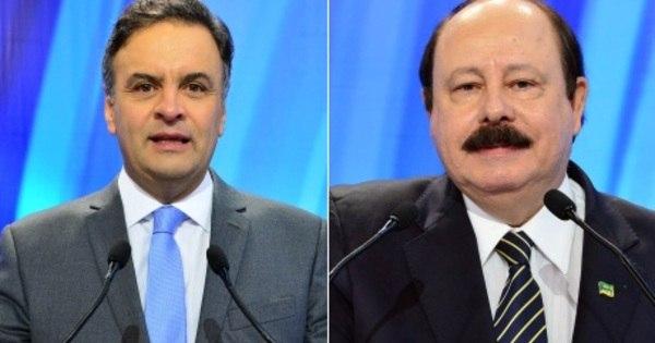 Aécio Neves e Levy Fidelix defendem temas polêmicos durante ...