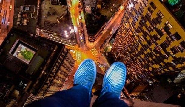 Exploradores urbanos arriscam as vidas para fazer cliques (ilegais) das alturas