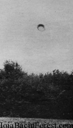 As fotos mostram objetos não-identificados, alguns no formato de anéis e outros que lembram discos voadores