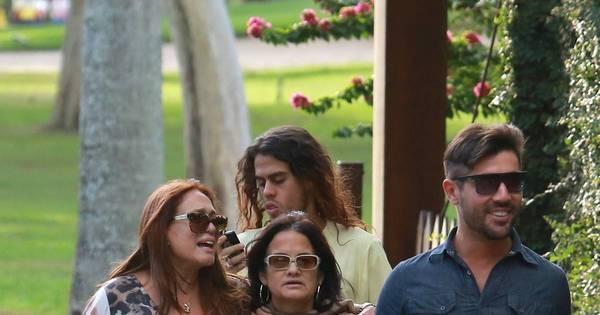 Mesmo após flagra, Susana Vieira e Sandro Pedroso não voltaram ...