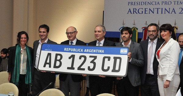 Mercosul aprova modelo único de placa para os veículos do bloco ...