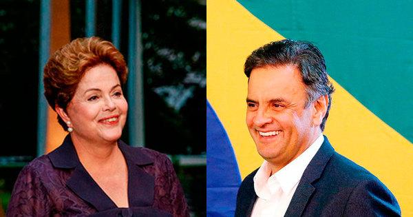 Segundo turno: Pesquisa mostra que Aécio Neves tem 54% e Dilma ...
