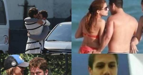 Indiscretas! Veja as celebridades que já foram flagradas em ...