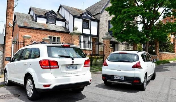Fiat Freemont e Peugeot 3008 querem um lugar na sua garagem
