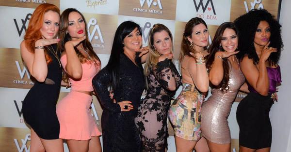 Mara Maravilha curte festa com Nuelle Alves - Fotos - R7 Famosos e ...