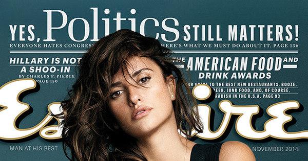 Penélope Cruz é a mulher mais sexy do mundo, segundo revista ...