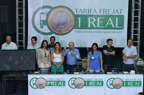 Jofran Frejat promete usar IPVA para subsidiar passagem de ônibus a R$ 1 no DF