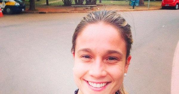 """Fernanda Gentil corre no Ibirapuera e brinca: """"Tô muito paulista meu!"""""""