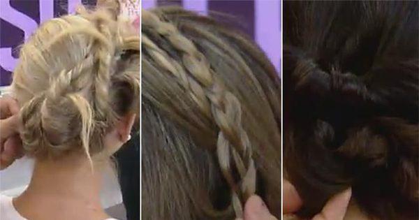 Prático e rápido! Aprenda a fazer penteados incríveis em casa com ...