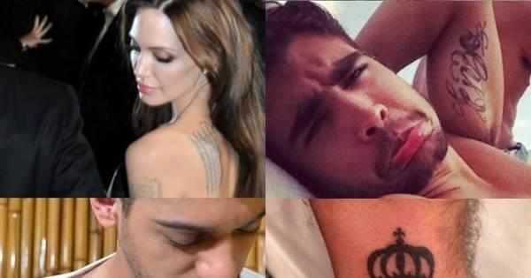 Entenda o significado das tatuagens dos famosos - Fotos - R7 ...