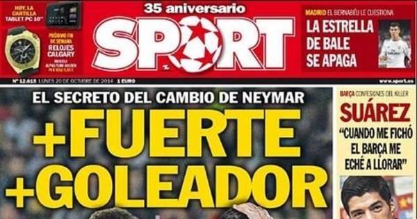 """Em semana decisiva, catalães exaltam Neymar """"mais forte e goleador"""""""