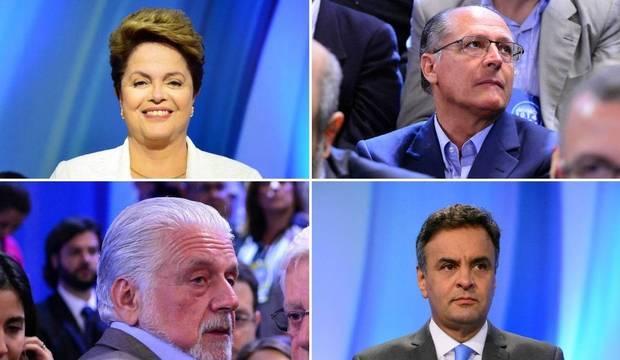 Acompanhe os bastidores do debate entre os candidatos à Presidência na Record