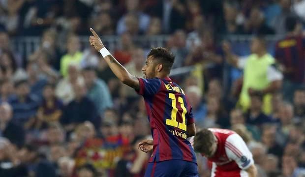 Com direito a 7 a 1 do Bayern, rodada tem chuva de gols e show de Neymar e Messi