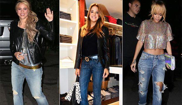 De Rihanna a Shakira, veja quem são as famosas que não erram na calça jeans